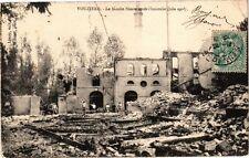 CPA VOUZIERS - Le Moulin Simon apres l'incendie (210514)
