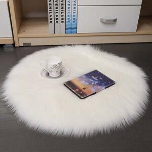 Carpet Artificial Soft Sheepskin Rug Carpet Wool Warm Hair Bedroom Bathroom