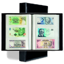 300 Banknotes Album US Currency Collection World Paper Money Leatherette Binder