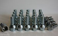 M14 x 1,5 Wobble Conversión Set Tornillos antirrobo de ruedas para AUDI A4