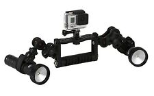 Goodman Handle With Video Lighting System 2400 Lumen for GoPro® FLEX-ARM GO.010