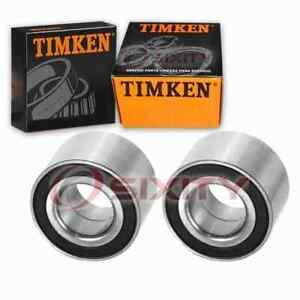 2 pc Timken Rear Wheel Bearings for 2004-2006 Pontiac GTO Axle Drivetrain qa