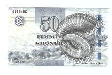 Faeroe faroe Islands 50 kroner 2011
