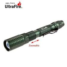 Ultrafire X-XML T6 LED Zoomable Taschenlampe 20000LM Taschenlampe Fokus Lampe RR