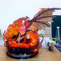 Etherious Natsu Dragneel Statue FAIRY TAIL Figurine Resin Model Not original New