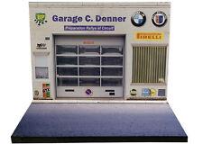 Diorama présentoir BMW Alpina - Garage C. Denner - 1/43ème - #43-2-A-A-015