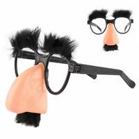 Halloween Dekoration Nase Augenbrauen Brillen Schnurrbart 12 Gläser Lustige J4S7