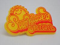 Sun Kissed St. George Florida Vintage Lapel Pin