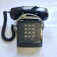 Vintage 80s Clear Push Button Trimline Phone Telephone Lonestar As Is