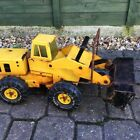 Vintage Tonka plough truck digger pressed steel toy