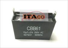 10uF Generator Capacitor 9.5uF 10 uf CBB61 10.5uF 50 60 Hz 350V 350 VAC UL AVR