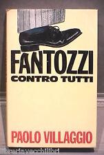 FANTOZZI CONTRO TUTTI Paolo Villaggio CDE 1981 Umorismo Satira Comico Satirico
