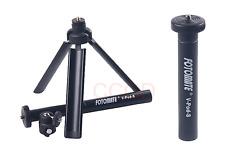 FOTOMATE V-Pod-S Lightweight Adjustable Mini Tripod for Canon Nikon Sony camera