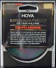 Genuine original hoya super qualité pro mince 62 mm par rapport 1 circulaire polarisant filtre