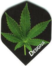 High Resolution Pot Leaf Dart Flights: 3 per set