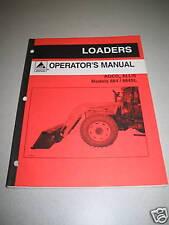 Agco Allis 884 & 884SL Loader Operator's Manual
