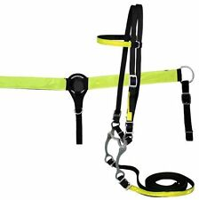 REFLECTIVE SAFETY WESTERN HORSE BRIDLE BREAST COLLAR PLATE TRAIL RESCUE SADDLE