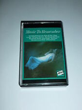 MUSIC TO REMEMBER - Vol 1 - 1971 UK 12-track Cassette