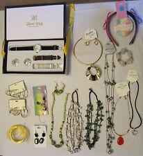 HSN Lot NEW Victoria Wieck Gemstones & Fashion Necklaces Earrings Bracelets