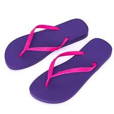 Ipanema Women's flip flops Rubber Sandals thong Brazil Beach Purple Pink Strap