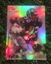 1998 TOPS GOLD LABEL JAMAL ANDERSON #3 RED LABEL CARD #D /100 RARE