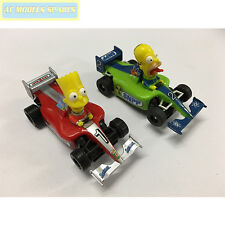 Micro Scalextric Coppia di Simpsons F1 CARS