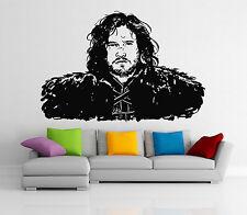 Jon Snow Wall Decal Game Of Thrones Movie Vinyl Sticker Art Decor Mural (26i)