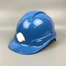 10 Pyramex Ridgeline 4 Point Ratchet Hard Hat Light Blue Hp44162 Lot Of Ten