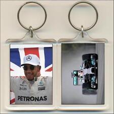 F1 Champions. 2017 Lewis Hamilton. Keyring / Bag Tag.