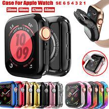 Coque pour Apple Watch 6 5 4 3 SE iWatch 38/42/40/44 TPU Housse écran Protection