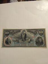 El Banco Italiano Del Uruguay, $10