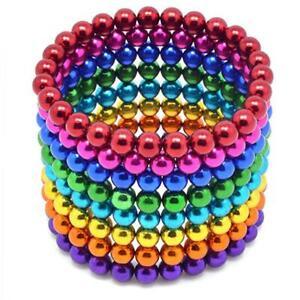 Kugelmagnet - Set mit 216 Kugeln oder 500 Kugeln Bunt gemischt 3mm oder 5mm