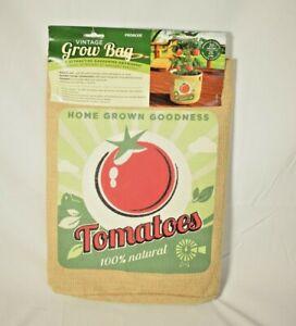 Panacea - Vintage Look Grow Bag Tomatoes - 20 Gallon Burlap Bag (Gardening) New