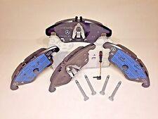 MERCEDES BENZ FRONT BRAKE PAD SET W/ SENSOR GENUINE C250 C300 E550 E350 4MATIC