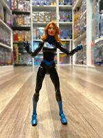 "Marvel Legends Hasbro Skrull BAF Series Fantastic Four Invisible Woman 6"" Figure"