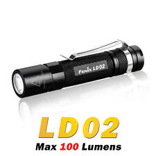 Fenix LD02 Cree XP-E2 LED 100Luemsn AAA Battery Pocket Keychain Flashlight Torch