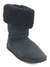Ugg Australia S/N 5815 Black Sheepskin Classic Tall Boots Women's Size 8 USA