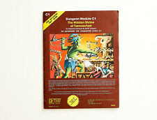 The Hidden Shrine Of The Tamoachan Module C1 1981 Dungeons And Dragons AD&D