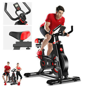 Heavy Duty Exercise Bike Indoor Home Gym Fitness Cardio Machine Bicycle LCD Seat