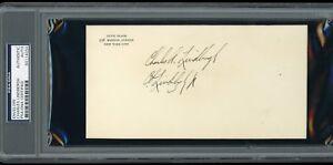 Charles Lindbergh Signed Autographed Envelope *SIGNED TWICE!* PSA/DNA Certified