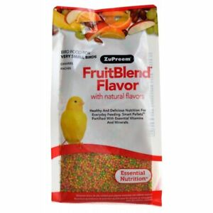 LM ZuPreem FruitBlend Flavor Bird Food for Very Small Bir14 oz