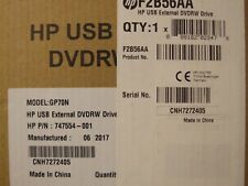 HP USB External DVD-RW Drive - F2B56AA - 747554-001  GP60NB60 - Brand New