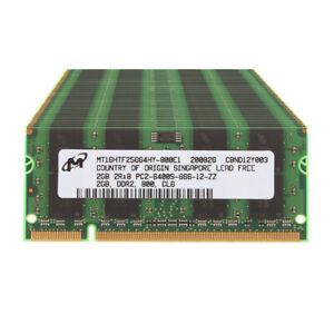 Micron DDR2 RAM 2 GB 4 GB 8 GB 800Mhz PC2-6400 200pin SODIMM Laptop Memory Lot