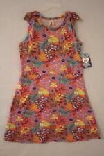 NEW Girls Summer Dress Size Large 10 - 12 Floral Print Sleeveless A-Line