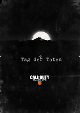 Call of Duty Zombies Black Ops 4 Tag Der Toten Poster A4 Print 170gsm Glossy