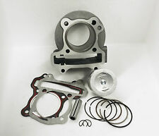 50mm Big Bore Piston Rings & Cylinder Performance 83cc/100cc, 139QMB GY6 Scooter