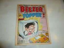 THE BEEZER & TOPPER Comic - No 110 - Date 24/10/1992 - UK Paper Comic