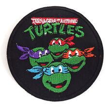 "Teenage Mutant Ninja Turtles 3.5"" Cartoon Logo Patch-FREE S&H (TMNTPA-05)"