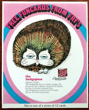 Funcards From Fry's – The Hedgepuss Card