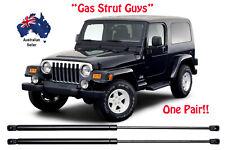 2 x New Gas Struts suit Jeep Wrangler TJ Series 1997 to 2006 Rear Window